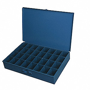 STEEL TRAY WITH LID LARGE 32 COMP