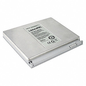 Lithium Polymer Laptop Battery&#x3b; Fits Model Apple MacBook Pro 15 inch A1150, MA463, MA463CH/A, MA463J