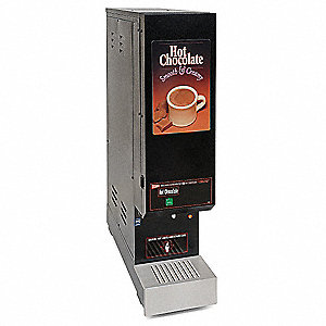 Hot Chocolate Dispenser,Powdered,Double