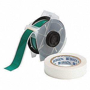 Clear/Green Label Maker Labels and Tapes - Grainger