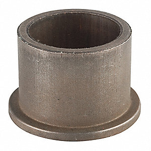 "Powdered Metal Coppered Iron (BB-16) Sleeve Bearing with 1-1/4"" Inside Dia. and 1-1/2"" Outside Dia."