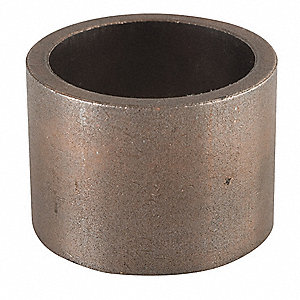 "Powdered Metal Coppered Iron (BB-16) Sleeve Bearing with 1-1/8"" Inside Dia. and 1-3/8"" Outside Dia."