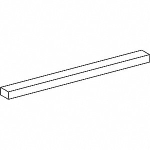 KEYSTOCK RECTANGULAR. 3/8X5/8X1FT