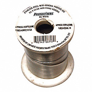WIRE TIE STAINLSS 18GA 1LB 157FT/RL