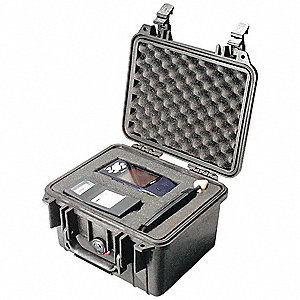 CASE MINI D W/FOAM 27.3LX24.8 BK