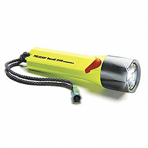 FLASHLIGHT LED 183 LUMEN CID1 4XAA YLW