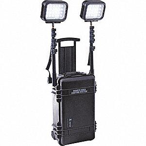 LIGHTING SYSTEM RALS 2 LED HEAD BK