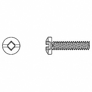 SCREW MACH RD COM RBT 6-32X1-1/4 1C