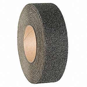 "60 ft. x 4"" Silicone Carbide Antislip Tape, Black"