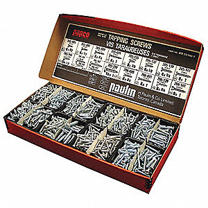 SCREWS METAL SLOT ASSORTMENT