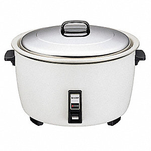 Electric Rice Cooker, White