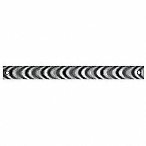 Milled Tooth File,Flexible,14 In,8 TPI