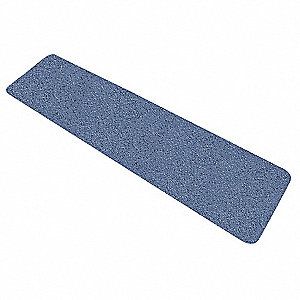 "Solid Blue Anti-Slip Tread, 6"" x 2.0 ft., 54 Grit Aluminum Oxide, Acrylic Adhesive, 10 PK"