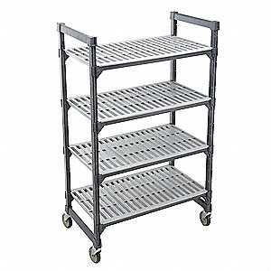 Mbl Shelving Unit,70InH,24InW,24InD