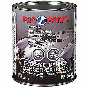ACRYLIC PRIMER SURFACER GRY