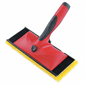 "3-3/4"" x 9"" Plastic Applicator, Red/Black; For Use With Mfr Model No. 3955109"
