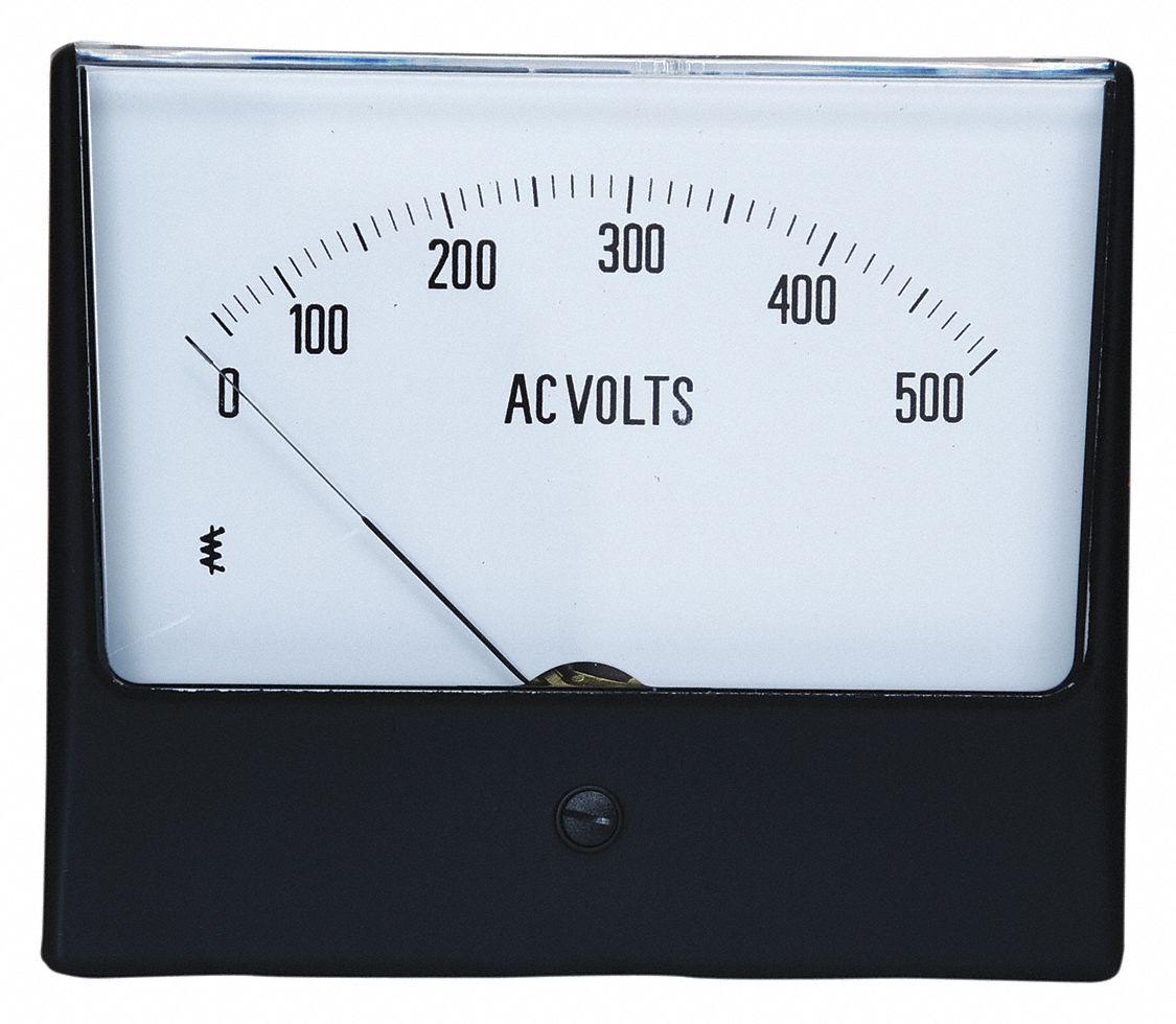 AC 0-500V 4-wire 3 1//2 Digital LCD Volt Panel Meter voltage power supply L1ST