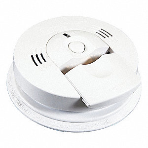 "5-3/4"" Smoke and Carbon Monoxide Alarm with 85dB @ 10 ft. Audible Alert&#x3b; (3) AA"