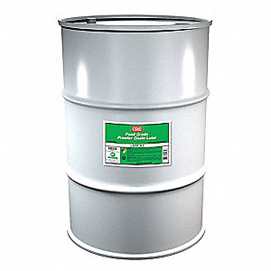 Food Grade Proofer Chain Lubricant, 55 gal. Container Size, 55 gal. Net Weight
