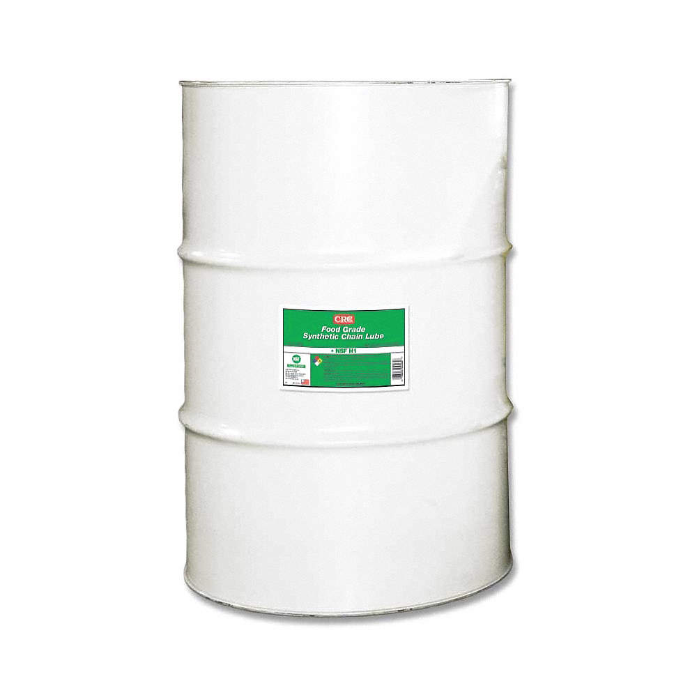 CRC Chain and Cable Lubricant, 55 gal. Drum, Polyalphaolefin ...