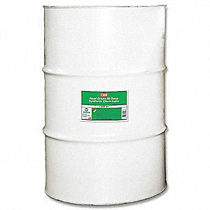 Chain and Cable Lubricant, 55 gal. Drum, Ester Chemical Base, White Color