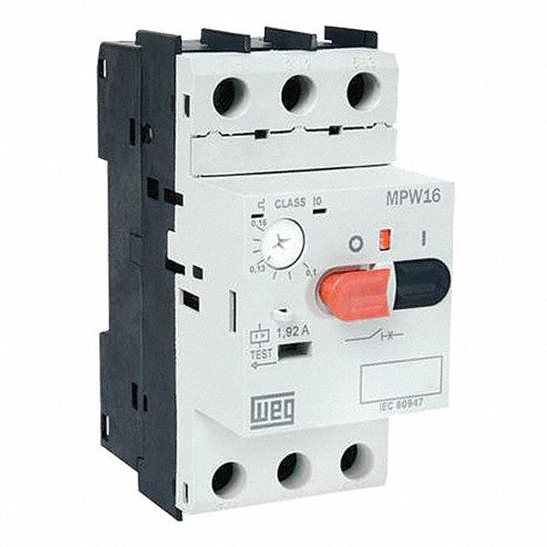 Weg 45mm Push Button Manual Motor Starter No Enclosure 6