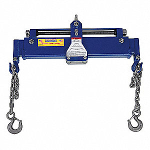 1-1/2 ft. Painted Steel Engine Load Leveling Sling with Leveling Bar w/Hooks Sling Type