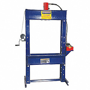 Hydraulic Press,55 t,Air Pump