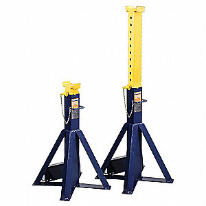18 x 18 Pin Style High Reach Vehicle Stand&#x3b; Lifting Capacity (Tons): 10