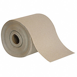 450 ft. 1-Ply Paper Towel Roll, Brown&#x3b; PK12