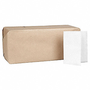 "12 x 17"" 1-Ply Plain Dispenser Napkin MorNap®, White&#x3b; PK6000"