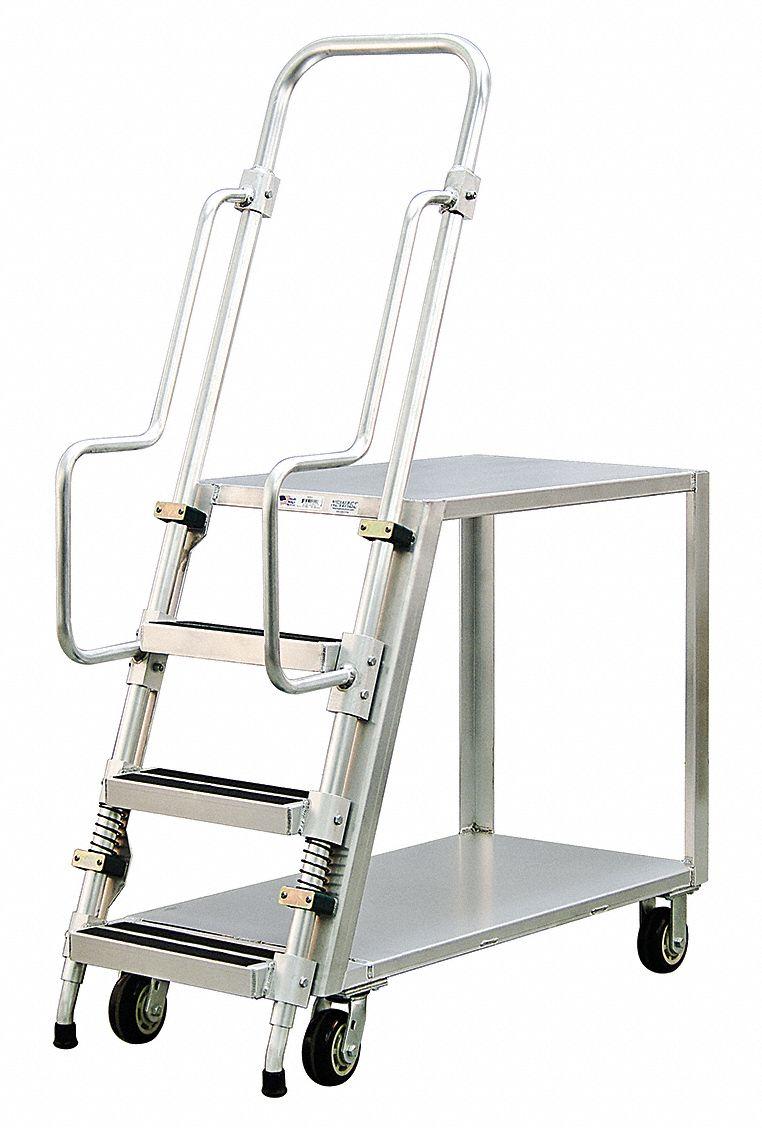 Stock Picking Ladder Carts