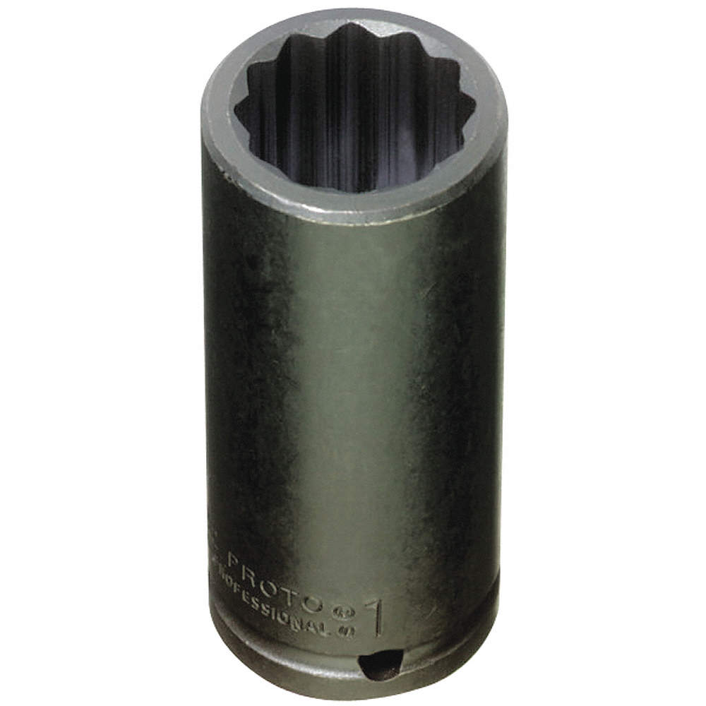 PROTO J7326 Impact Socket,1//2 In Dr,13//16 In,12 pt