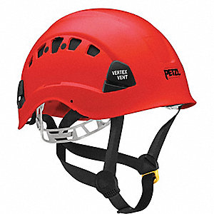 VERTEX VENT HELMET-RED ANSI APPROVE
