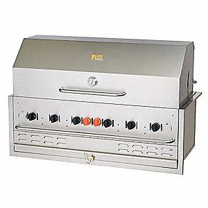 Built-In Grill,Natural Gas,6 Burners