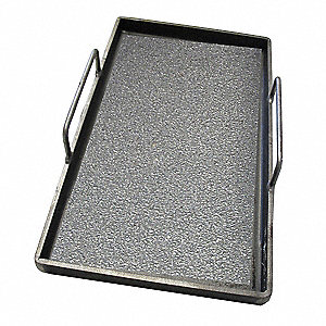 "12"" x 20-1/2"" x 2"" Carbon Steel Removable Griddle Plate"