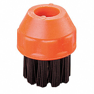 Small Nylon Detail Brush, For Use With Mfr. No. STM-Basic, VB-IIB, VB-IB, 3.3KW, 4 PK