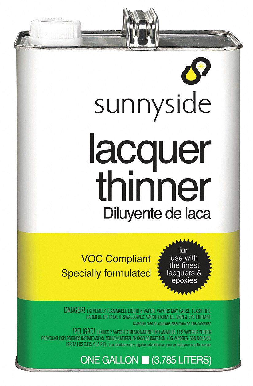 Lacquer Thinner, 1 gal , Brush, Roll, Cloth, VOC Content: 24g/L