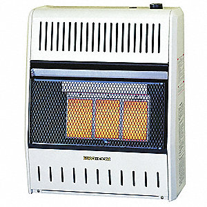 "10"" x 21-3/4"" x 25-3/4"" Infrared Vent Free Portable Gas Heater with 700 sq. ft Heating Area"