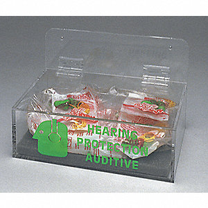DISPENSER HEARING PROTECTION