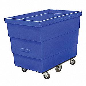 CART RECYCLE 18 BU BLUE