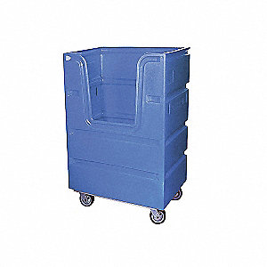 TRUCK 48 CU FT BULK POLY BLUE