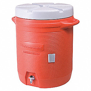 COOLER WATER PLASTIC OR 10 GAL