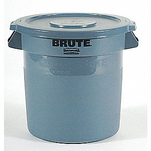 CONTAINER 35GAL 44USG BLUE