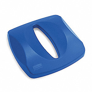 LID BLUE RECYCLE PAPER FITS 3569