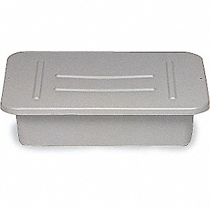 TRAY BUS/UTILITY POLYETHYLENE GREY