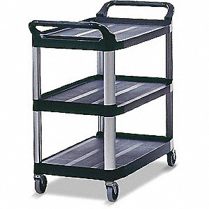 "Utility Cart,300 lbs,40-3/8"",20"",37-7/8"""