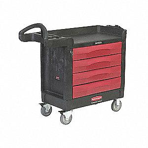 """A/V Cart,500 lbs,40-5/8""""x18-3/8""""x33-3/8"""""""