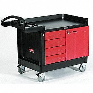 "Utility Cart,750 lbs.,49""x26-1/4""x38"""
