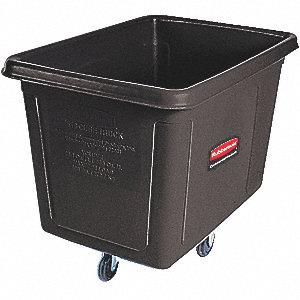 """Cube Truck,44-1/8""""x32-1/2""""x31"""",Black"""